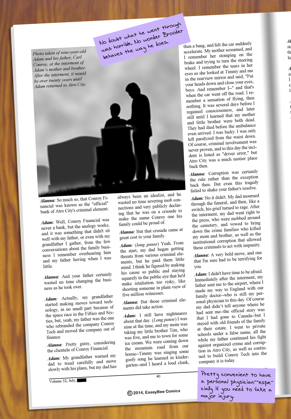 Interleude--Faces Magazine Interview 3 Page 3