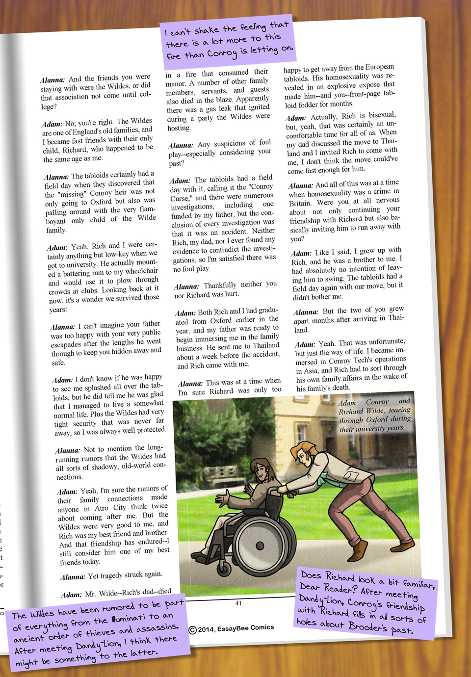 Interleude--Faces Magazine Interview 3 Page 4