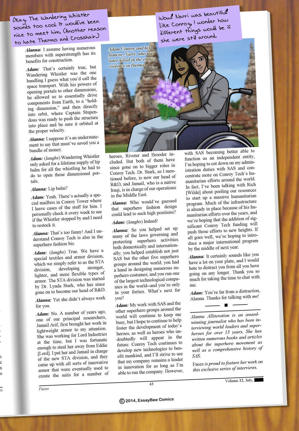 Interleude--Faces Magazine Interview 3 Page 6